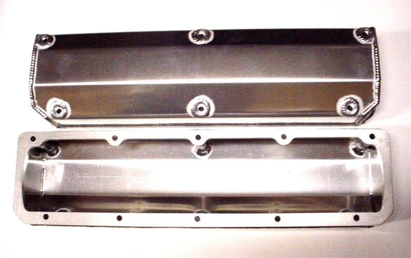 Valve Cover Fabricated Aluminum