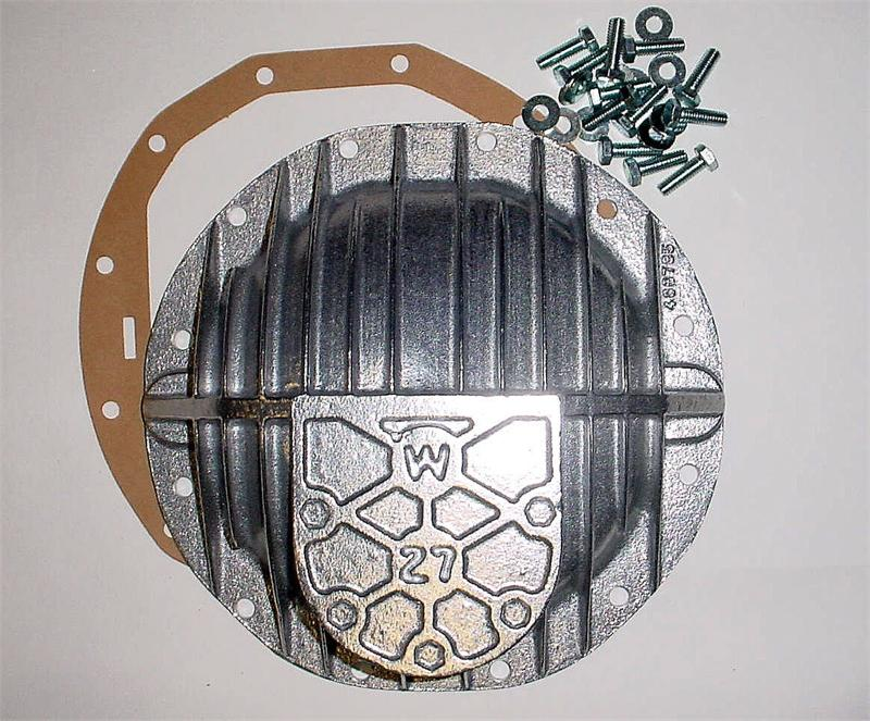 Differential Cover Aluminum 12-Bolt Oldsmobile