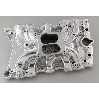 Intake S/B Edelbrock Performer RPM Polished 71111