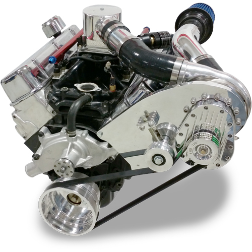 Supercharger Chevrolet Big Block - Single Charger Kit